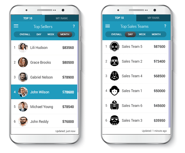 gamification platform leaderboards
