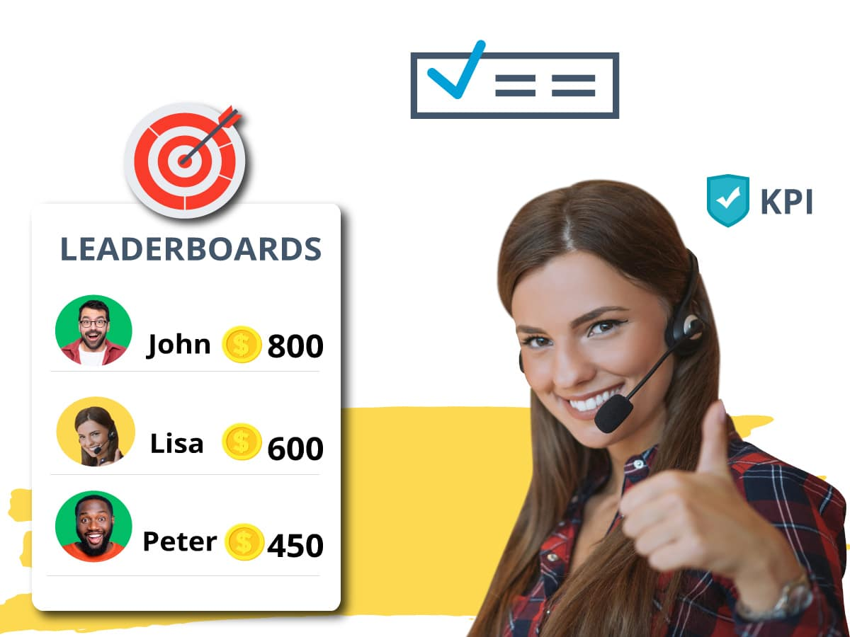 Gamification in contact center